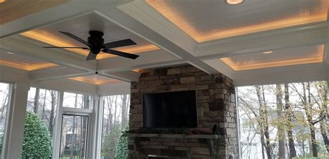 cozy  comfortable screen porch  fort mill