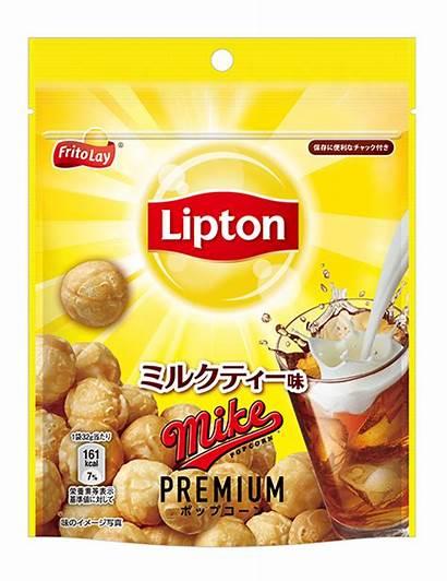 Milk Popcorn Lipton Convenience Flavour Collaboration Hits