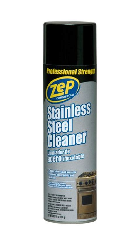 best stainless steel cleaner tools and accessories cleaning supplies zep commercial stainless steel polish cleaner