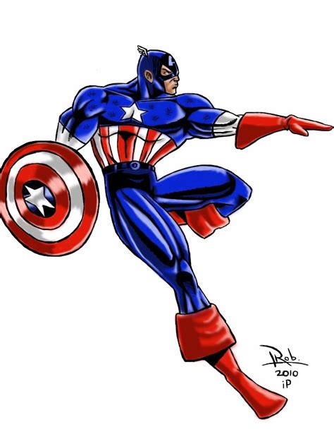 dibujos del capitan america marvel en picturalia