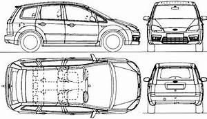 Dimension Ford C Max : the blueprints cars ford ford c max ~ Medecine-chirurgie-esthetiques.com Avis de Voitures