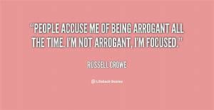 Arrogant People... Funny Pompous Quotes
