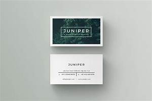 j u n i p e r business card on behance With busniess card template