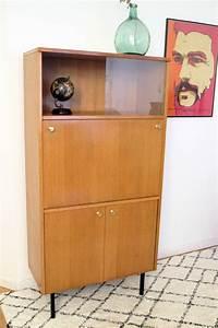 Bureau Secretaire Vintage : secr taire bureau vintage ann es 60 style pierre guariche ~ Teatrodelosmanantiales.com Idées de Décoration