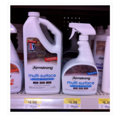 armstrong multi surface floor cleaner armstrong floor cleaner only 3 48 at walmart new coupon