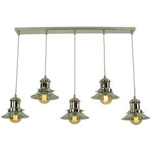 hanging kitchen lights island vintage fisherman style kitchen island pendant with 5 hanging lights