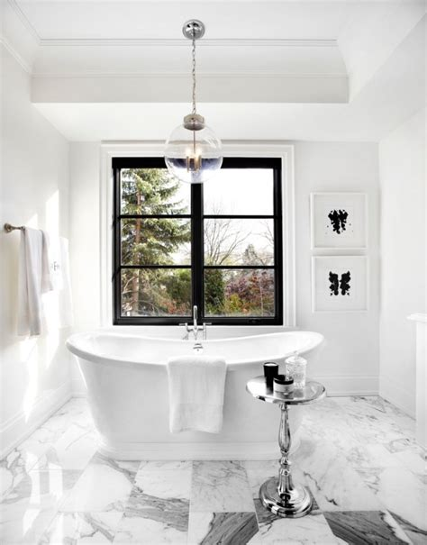 Black And White Bathroom Design by Get Inspired With 25 Black And White Bathroom Design Ideas
