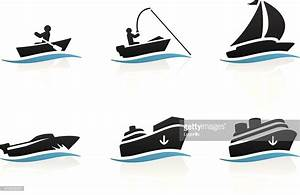 Boat Icons Vector Art | Getty Images