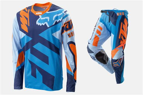 fox motocross gear 2016 ktm fox 360 jersey pants