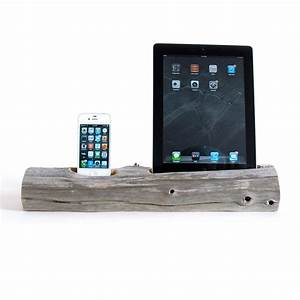 Dockingstation Ipad Air : driftwood docking station ipad phone ipad 2 3 iphone 5 6 6 docksmith touch of modern ~ Sanjose-hotels-ca.com Haus und Dekorationen