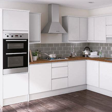 gloss kitchen tile ideas kitchen compare com homebase essential kensal high gloss