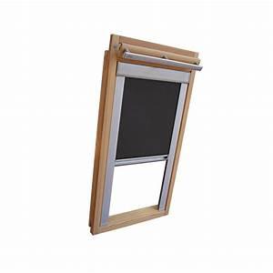Velux Dachfenster Verdunkelung : rc rollo shop verdunkelungsrollo alu thermo f r velux dachfenster ggl gpl ghl dunkelgrau ~ Frokenaadalensverden.com Haus und Dekorationen
