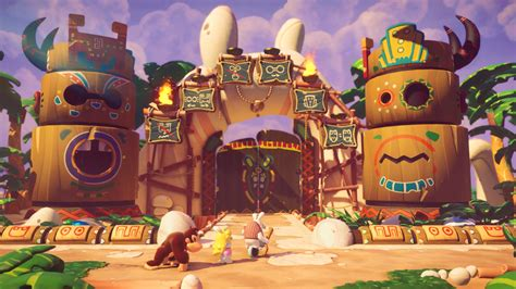 mario rabbids kingdom battle screen shots rpgfan