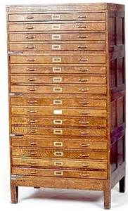 Shallow Drawer Storage Chest