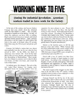 workers   industrial revolution article