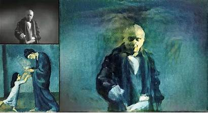 Transfer Neural Network Picasso Painting Glass Artistic