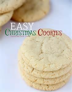 Easy Cookie Recipes Christmas Cookies