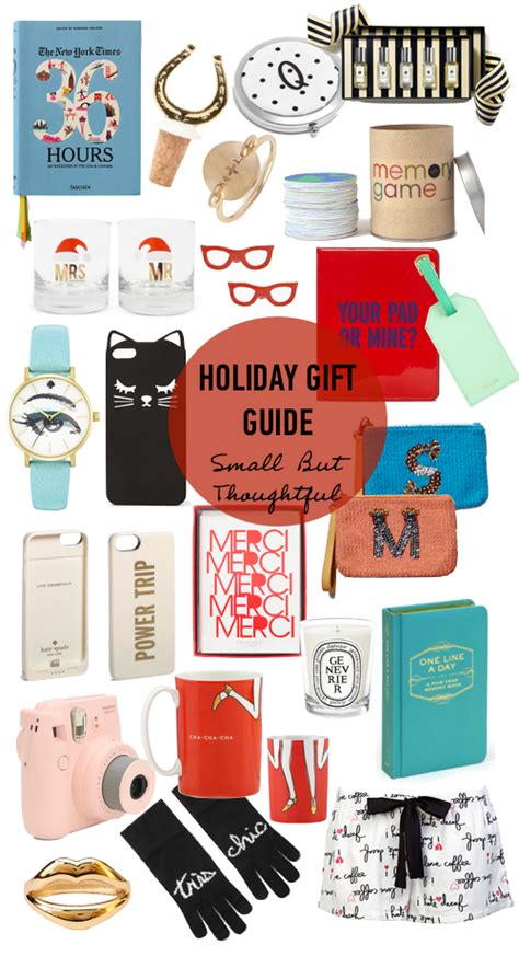 holiday gift guide small but thoughtful