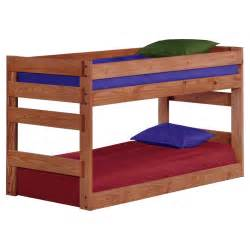 chelsea home twin over twin jr bunk bed mahogany bunk