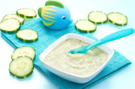 bebe cuisine poulet concombre cuisine de bébé