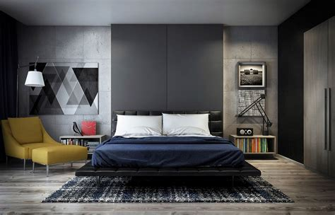 Bedroom Wall by Concrete Wall Designs 30 Striking Bedrooms That Use