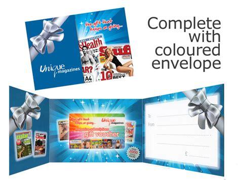 post  magazine subscription gift voucher