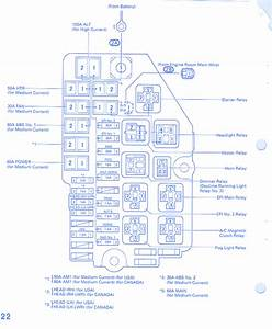 Diagram  91 Toyota Fuse Block Wiring Diagram Full Version