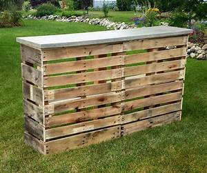 Pallet Patio Bar With Concrete Top: 6 Steps (with Pictures)