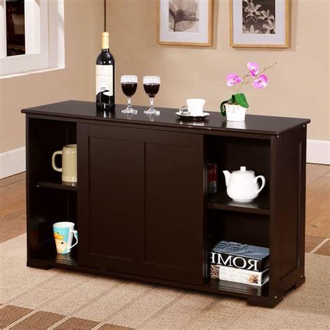 Kitchen Cupboard Storage by Shop Costway Kitchen Storage Cabinet Sideboard Buffet