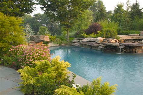 Swimming Pond : Beautiful Natural Swimming Pools In New Jersey