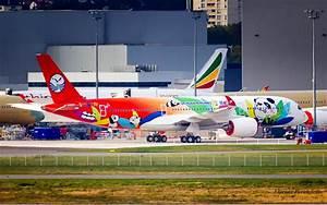 L'Airbus A350 Sichuan Airlines livrée « Panda » aperçu à