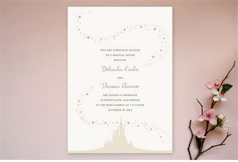 Enchanted Stars Wedding Invitation Suite.