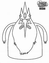 Adventure Coloring Ice King Pages Angry Finn Fist Bump Jake Cartoon Coloringsky sketch template