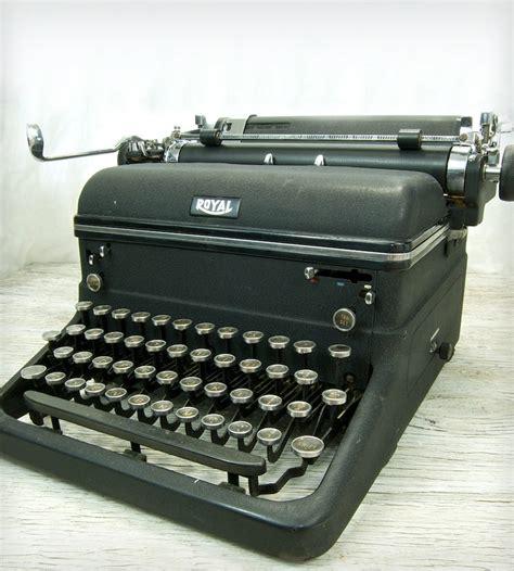 royal typewriter vintage royal kmm typewriter home decor lighting anodyne ink scoutmob product detail