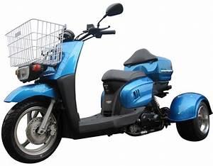 Ice Bear  U0026quot Mini Cruzzer U0026quot  50cc Motor Trike Moped Scooter
