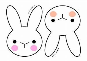 Bunny Face Outline - ClipArt Best