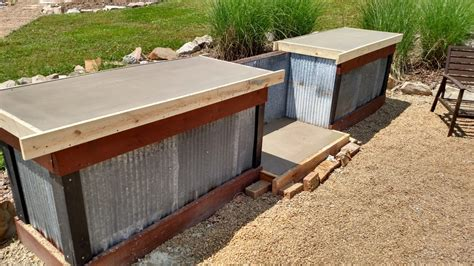creating  inexpensive outdoor kitchen  concrete