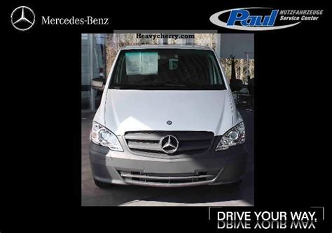 xenon floor l mercedes benz vito 116 cdi ka 32 l xenon hitch air rear door 2011 box type delivery van photo