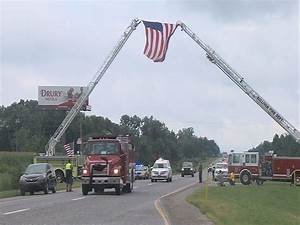Community shows support for fallen fire Chief Clay Shidler