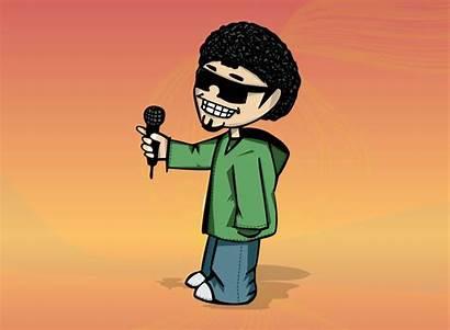 Dj Cartoon Hop Hip Characters Character Clipart