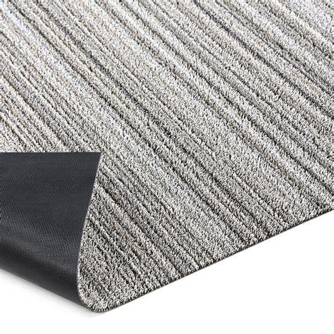 Thin Door Mat For Inside by Chilewich Stripe Shag Doormat Reviews Wayfair