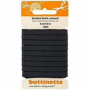 Gummiband Länge Berechnen : buttinette gummiband standard elastik schwarz breite 8 mm l nge 10 m online kaufen ~ Themetempest.com Abrechnung