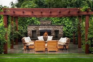 terrasse feuerstelle good best ethanol kamin feuerstelle With feuerstelle garten mit pergola balkon selber bauen