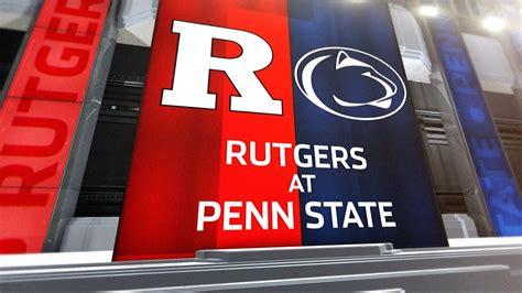 rutgers  penn state football highlights youtube