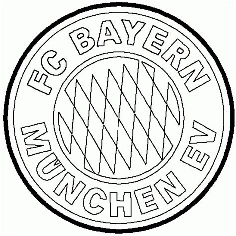 Kleurplaat Bayermunchen by Coloriage Embl 232 Me Du Bayern De Munich Coloriages D