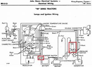 John Deere 40 Starter Switch