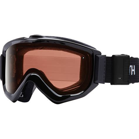 smith turbo fan goggles smith optics knowledge turbo fan otg snow goggles kn5ebk16 b h