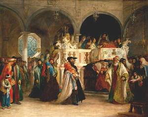 File:Solomon Alexander Hart - The Feast of the Rejoicing ...