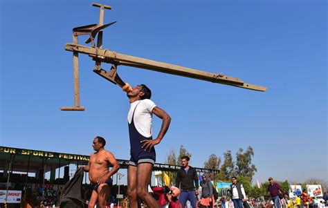 Rural Olympics attract players and spectators in India ...