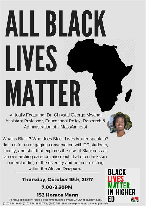 gallery black lives matter higher postsecondary